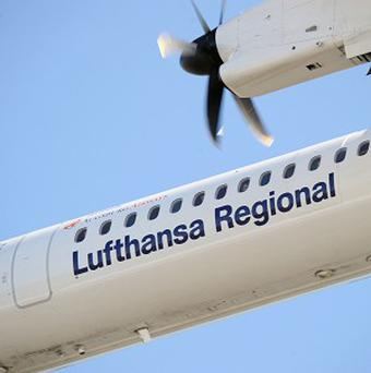A Lufthansa aeroplane was forced to make an unscheduled stop because of an undefinable smell from the kitchen