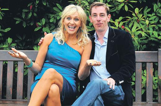 RTE stars Miriam O'Callaghan and Ryan Tubridy
