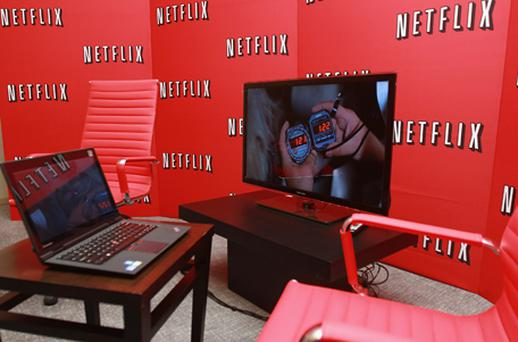 Netflix will offer unlimited TV shows and movie streaming over the internet. Photo: Getty Images