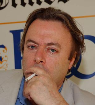 Controversial: Christopher Hitchins