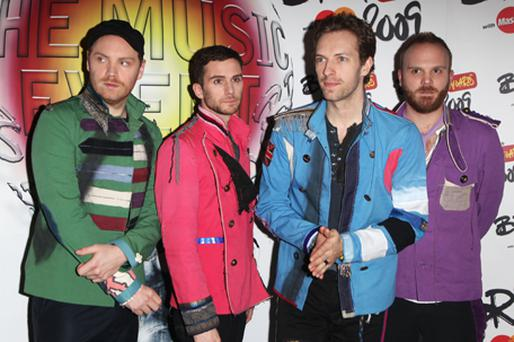 Coldplay are one of EMI's artists. Photo: Getty Images