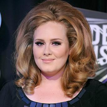 Adele is up for best female artist at the Q Awards