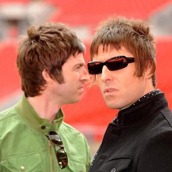 Liam Gallagher said he would be 'up for' a reunion with his brother Noel