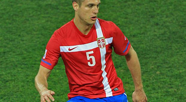 Nemanja Vidic has called time on his international career. photo: Getty Images