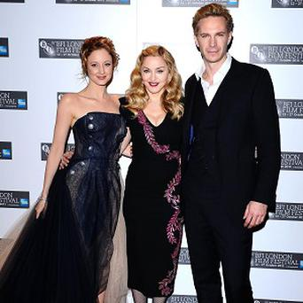 Andrea Riseborough, Madonna and James D'Arcy attended the premiere of W.E.