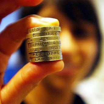 Fake pound coins with a value of more than 6.5 million pounds have been removed from circulation since 2003