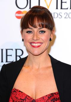 File photo dated 13/03/11 of former Strictly Come Dancing champion Jill Halfpenny who has signed up to head to South Africa for the TV series Wild At Heart. PRESS ASSOCIATION Photo. Issue date: Tuesday October 25, 2011. The ex-EastEnders actress, 36, who played Kate Mitchell in the BBC1 soap, joins Stephen Tompkinson, Dawn Steele, Hayley Mills and Deon Stewardson in the seventh series of the popular ITV1 drama, to be screened next year. See PA story SHOWBIZ Halfpenny. Photo credit should read: Ian West/PA Wire
