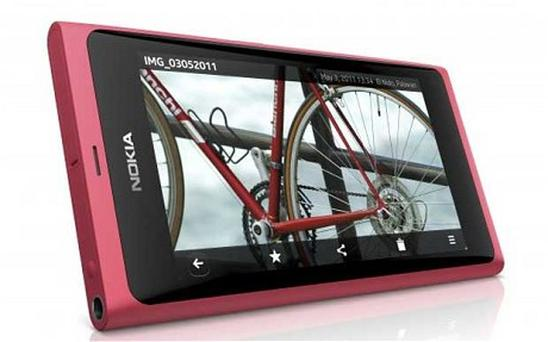 Nokia's new 800 handset will use Windows Phone, but is set to be based on the N9, pictured