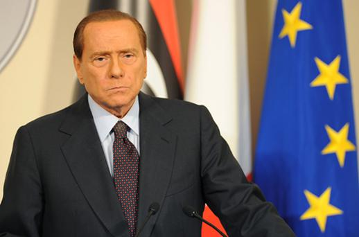 Embattled: Silvio Berlusconi. Photo: Getty Images