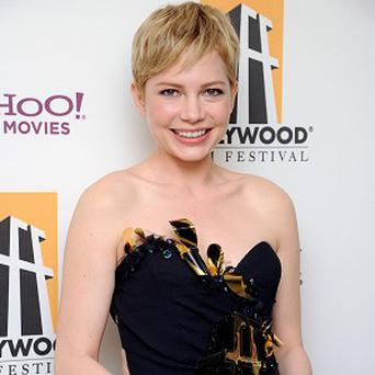Michelle Williams picked up the best actress award at the Hollywood Film Awards Gala
