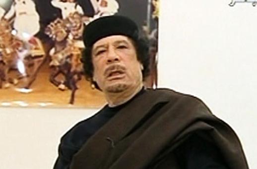 Colonel Gaddafi. Photo: Reuters