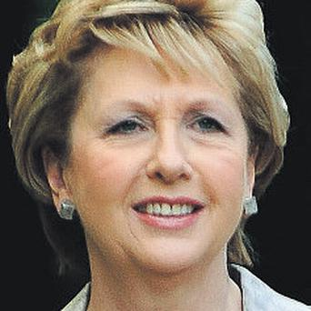 President McAleese: given gifts by heads of state