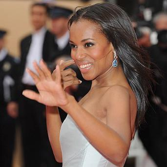 US actress Kerry Washington starred in The Last King of Scotland