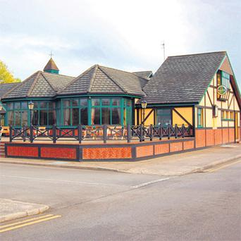 Under the hammer: Mick McCoy's Bar, in Newcastle West, Co Limerick is guiding a price in the region of €800,000