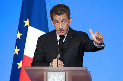 French president Nicolas Sarkozy has said the EU should not have allowed Greece to enter the single European currency