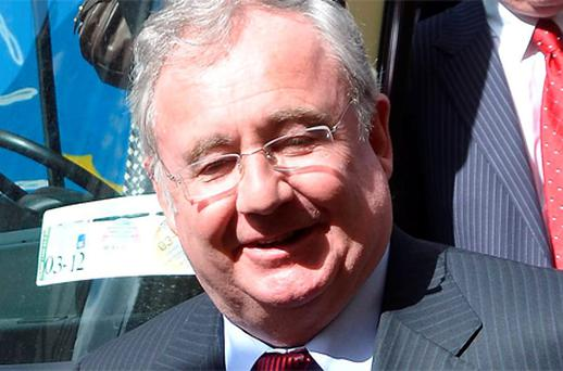 Communications and Energy Minister Pat Rabbitte