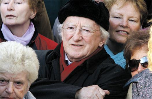 The president-elect, 70-year-old Michael D Higgins, has shown that age is no barrier
