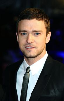 Justin Timberlake arrives at the premiere of new film In Time at the Curzon cinema in Mayfair, London. PRESS ASSOCIATION Photo. Picture date: Monday October 31, 2011. See PA story SHOWBIZ InTime. Photo credit should read: Ian West/PA Wire