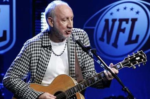 Pete Townshend urged Apple to support new talent Photo: Reuters