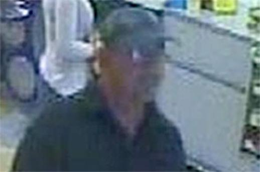 West Midlands Police CCTV handout still of a man police want to speak to in connection with a 'scooter rage' attack on an 83-year-old disabled man. Photo: PA