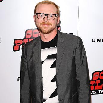 Simon Pegg has joined the Rising Star Award jury