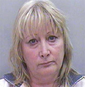 Lynda Seager, 63, who was jailed for two years today for growing large amounts of 'skunk' cannabis at her house using equipment she claimed was for cultivating strawberries indoors