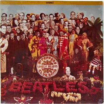 The Beatles Sgt Pepper's Lonely Hearts Club Band album cover