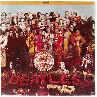 The revamped version of The Beatles' Sgt Pepper's Lonely Hearts Club Band album cover has been named the most valuable