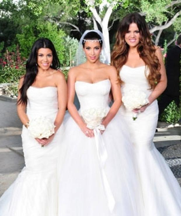 Kim K Wedding Gown: Kim Kardashian: Wang Wedding Dress Replicas Going Ahead