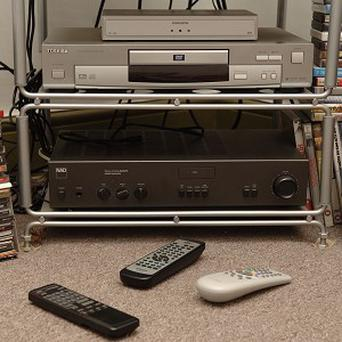 TVs, DVD players and sound systems top the poll of the most expensive items in people's homes