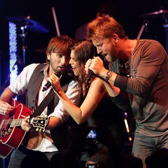 Country music group Lady Antebellum hope to return to the UK next year