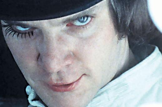Pushing boundaries: Malcolm McDowell inA Clockwork Orange