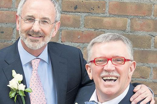 IT'S A PARTNERSHIP: Michael Murphy and Terry O'Sullivan