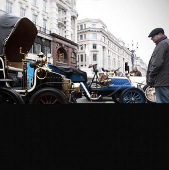 Cars will travel at an average speed of between 20mph and 25mph during the London to Brighton Veteran Car Run