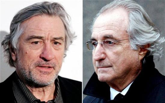 De Niro, 68, will star as Madoff, the former Wall St financial expert who swindled investors out of an estimated $50bn with a Ponzi scheme