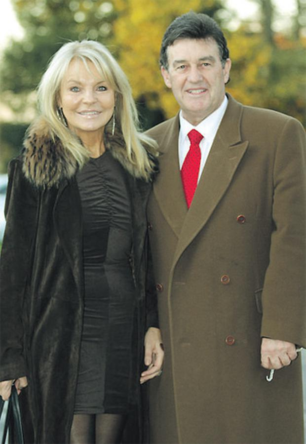 Bill Cullen and Jackie Lavin