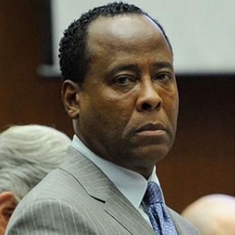 Conrad Murray at his trial into the death of pop star Michael Jackson
