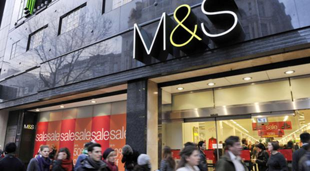 Marks & Spencer revealed a hit to profits today after it opted not to pass on the full extent of rising costs to cash-strapped shoppers. Photo: PA