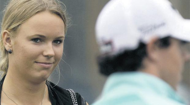 Rory McIlroy and his Danish tennis superstar girlfriend Caroline Wozniacki are one of the highest profile couples in sport