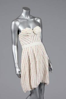 The dress worn by Amy Winehouse on the cover of her album Back To Black