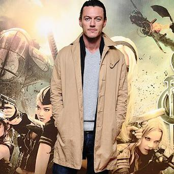 Luke Evans could be set to play King Arthur