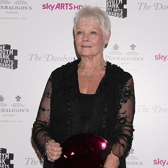 Dame Judi Dench has received a Lifetime Achievement award from Harper's Bazaar magazine