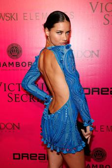 NEW YORK, NY - NOVEMBER 09: Model Adriana Lima attends the 2011 Victoria's Secret Fashion Show After Party at Dream Downtown on November 9, 2011 in New York City. (Photo by Andy Kropa/Getty Images)