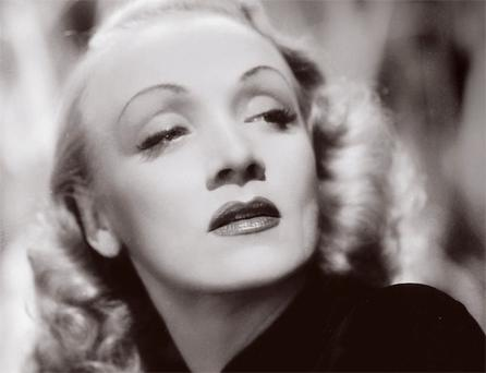 Picture-perfect: Frame your face with well-kept eyebrows like screen goddess Marlene Dietrich