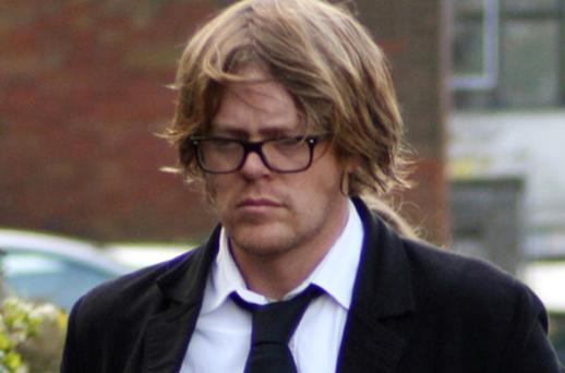 My Family actor Kris Marshall arrives at South Somerset Magistrates Court in Yeovil. Photo: PA