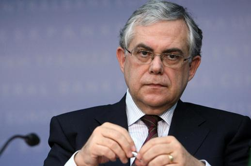 Lucas Papademos: officially named new Prime Minister of Greece. Photo: Getty Images