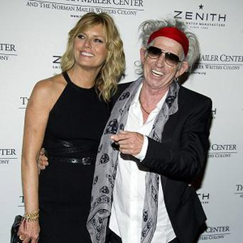 Keith Richards attended the event with his wife Patti Hansen