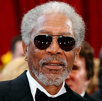 Morgan Freeman has a new award for his trophy cabinet