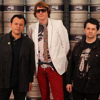 Manic Street Preachers' hits include Motorcycle Emptiness and Tsunami