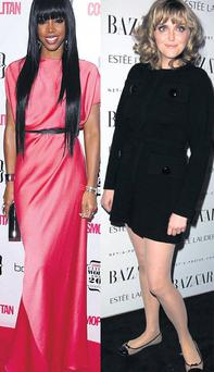 Kelly Rowland and Sophie Dahl